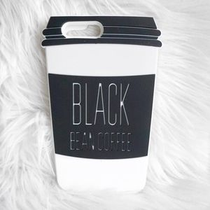 Other - Black Coffee - White iPhone 6 Case